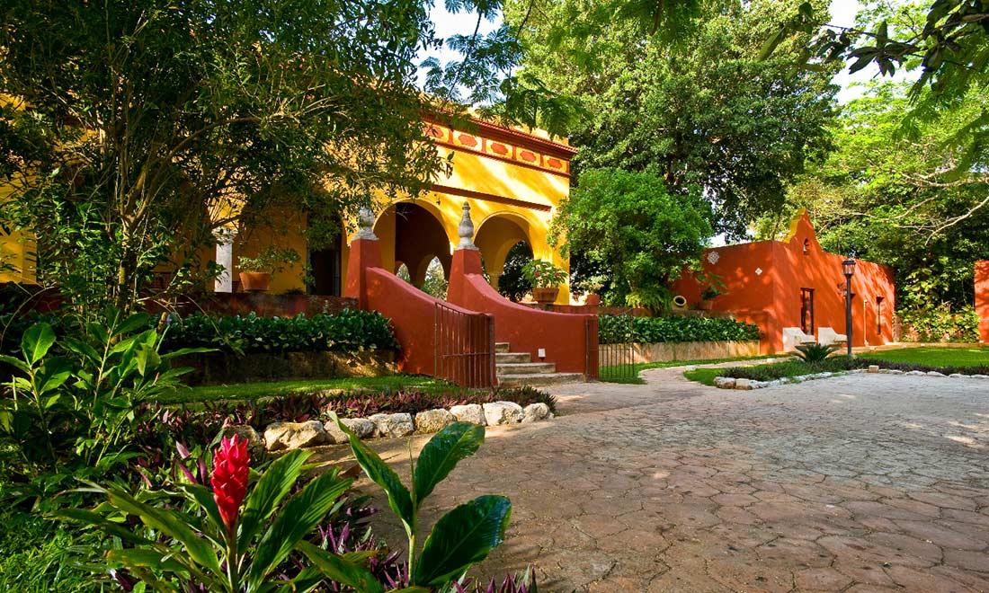 Una de las haciendas en m rida para bodas o eventos for Jardines de la hacienda